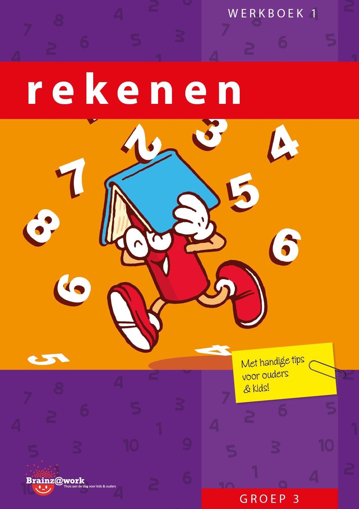 Nieuw Rekenen werkboek 1 - Groep 3 - Brainz@Work PG-43