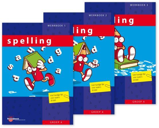 Pakket spelling – groep 4